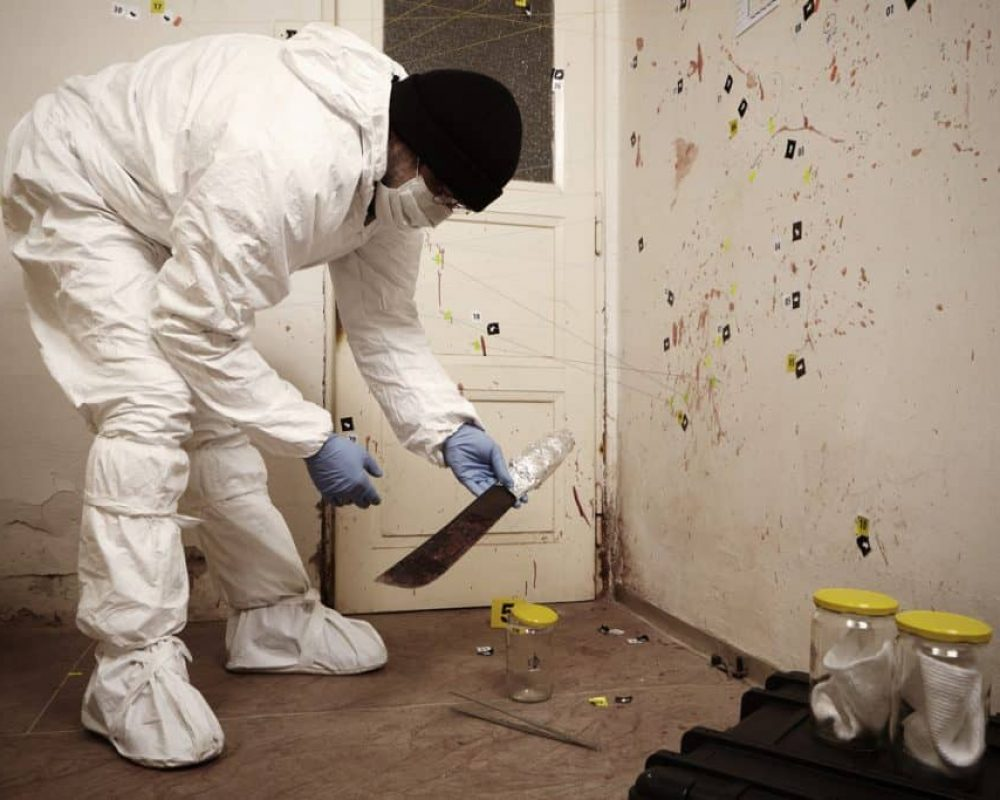 Blood Spatter And Three Other Problems With Crime-related Biohazard Decontamination